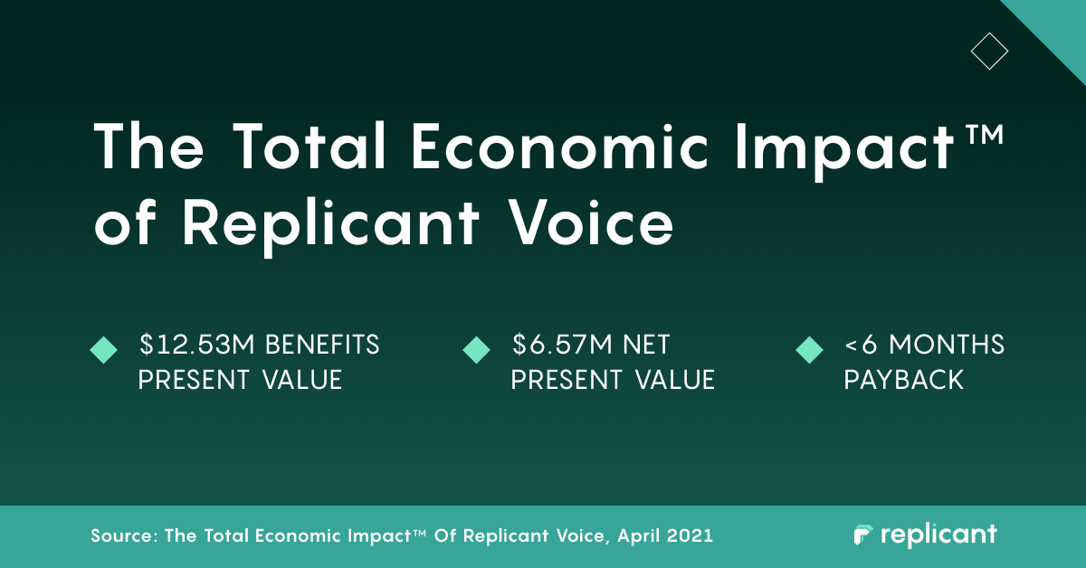 Enterprise Delivery Company Reduces Call Center Costs by 55% With Replicant Voice